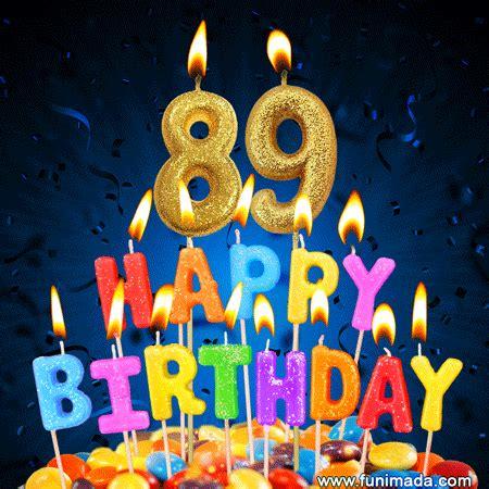 happy  birthday cake  colorful candles gif   funimadacom