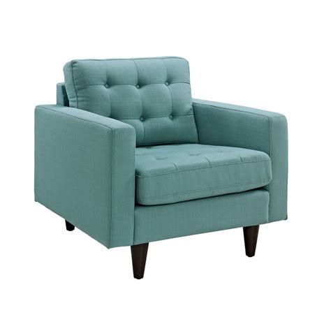 Light Blue Armchair Fabris Armchair In Light Blue