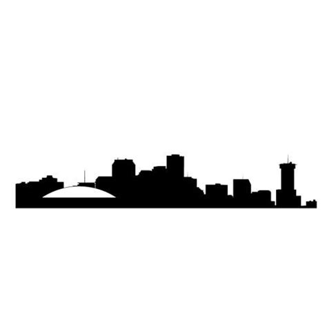 new orleans skyline wall decal 15 tattoo ideas