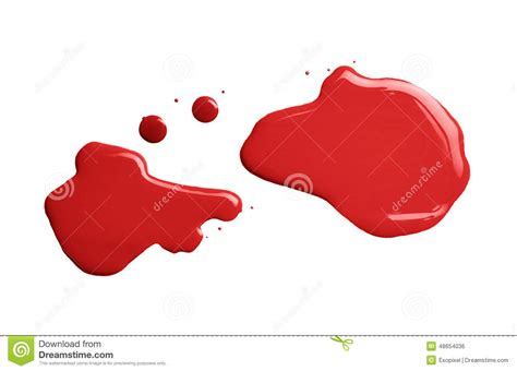 the puddle of a paint spill stock photo image 48654036