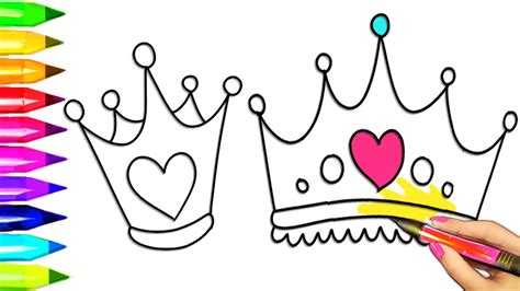 crown coloring page princess tiara crown coloring pages colouring for
