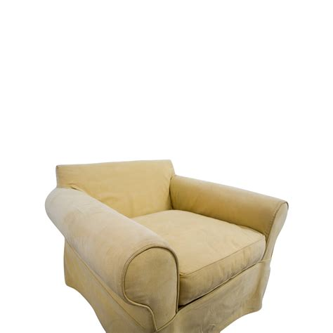 classic armchair 90 off pottery barn pottery barn classic armchair chairs