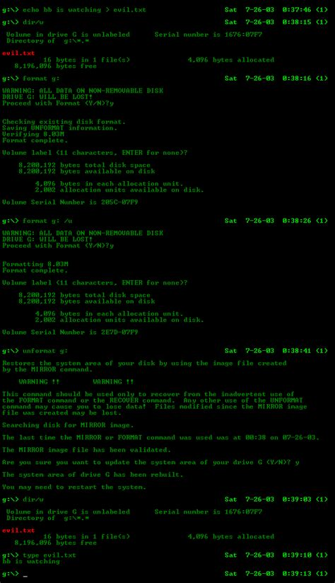format hard disk from dos file unformat gif wikipedia