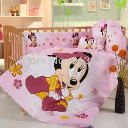 shop popular baby minnie mouse bedding from china aliexpress