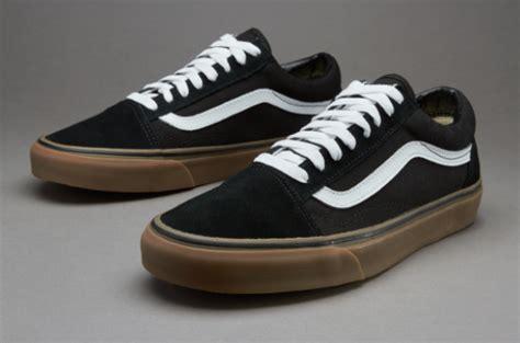 Sale Sepatu Vans Black Brown Size 36 39 vans skool gumsole mens shoes black medium gum