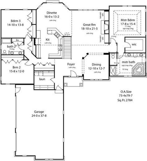 ranch floor plans open concept and new home plans on