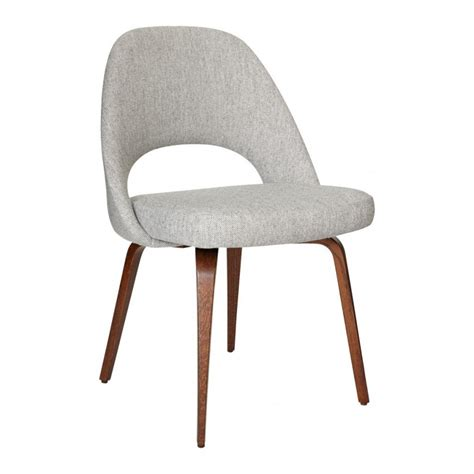 Saarinen Chair by Saarinen Conference Chair Hallingdal Fabric Walnut The