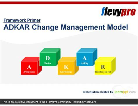 adkar change management powerpoint templates adkar change management model powerpoint flevypro document