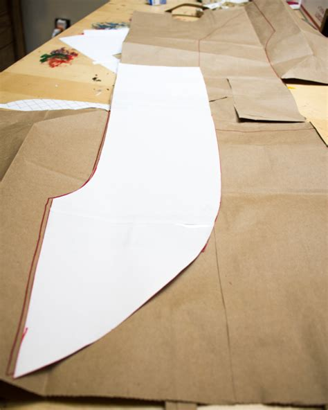 pattern in making paper bag how to make a brown paper bag sash church pinterest