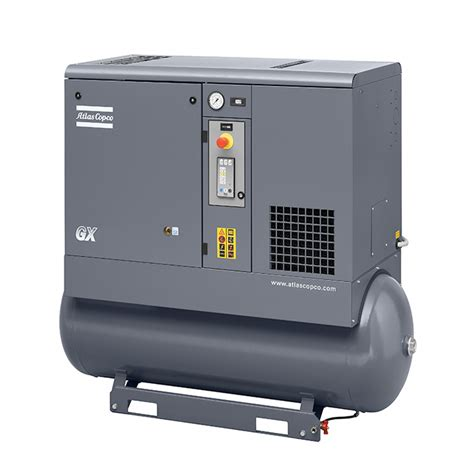 4kw compressor with dryer gx4 ep ff the compressor store