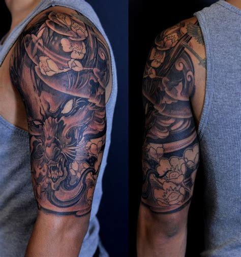 amazing japanese koi by luca ortis chronic ink tattoos toronto tattoos half sleeve