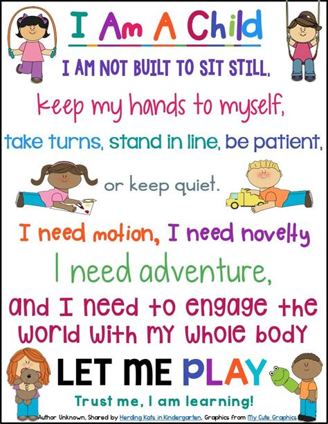 theme based quotes free quot i am a child quot poster inspirational words to