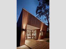 Trapezoid Shaped House Wood Bar Background