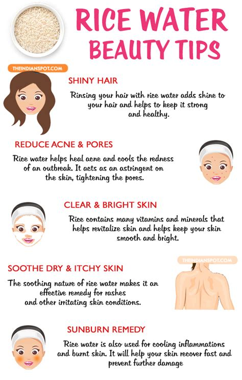 beauty tips and tricks at home rice water beauty benefits and uses normal skin beauty secrets and body scrubs