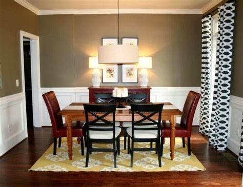 dining room color schemes wall paint colors for dining rooms
