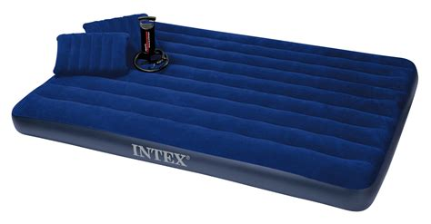 Intex Mattress by Intex Size Classic Downy Airbed With Pillows