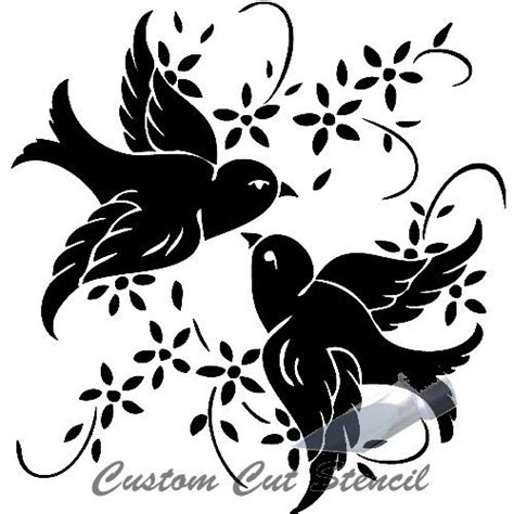 glass etching templates for free c birds 0007 pair birds etchworld your