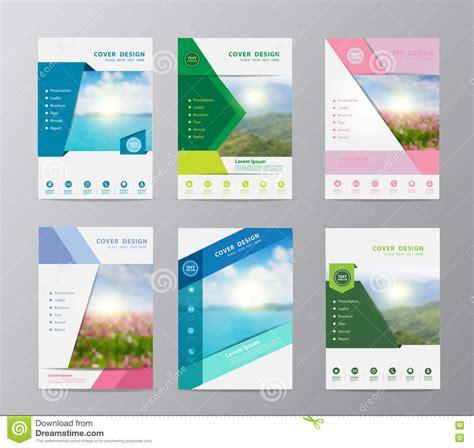 layout design nature vector annual report brochure flyer design nature