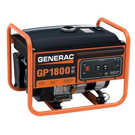 Small Vaccums Generac 5981 1 800 Watt Gasoline Powered Portable