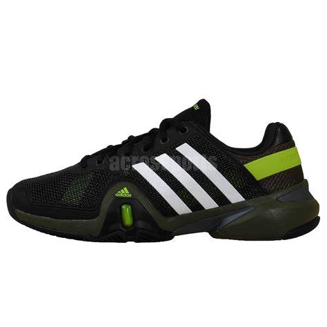adidas adipower barricade 8 black green white 2014 mens