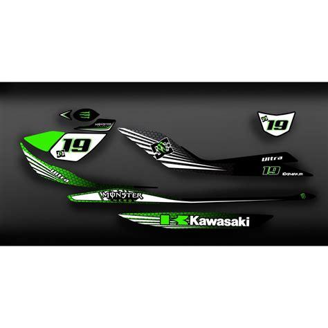 Kawasaki Ultra Sticker Kit by Kit D 233 Coration 100 Perso Monster Light Pour Kawasaki