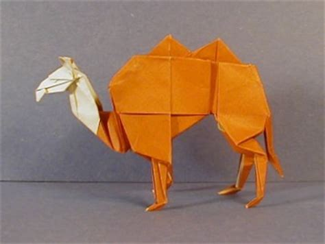 Camel Origami - camel origami sculptures the unofficial montroll