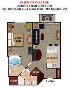 key west two bedroom villa floor plan sleeping space options and bed types at walt disney world