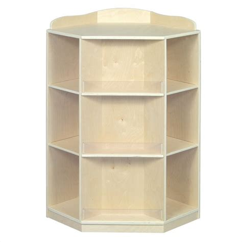 guidecraft birch corner book nook bookcase ebay