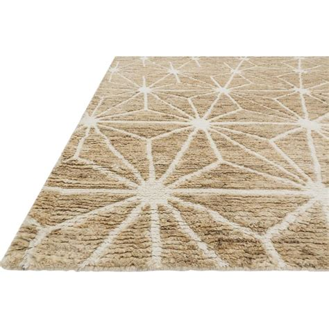4x6 wool rug nodo coastal beige jute wool rug 4x6 kathy kuo home