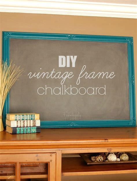 diy chalkboard mdf diy frame chalkboard fabulessly frugal