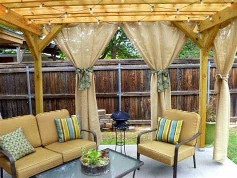 Outdoor Curtains For Pergola More Sunday Showcase Features And Last Week S Giveaway Winners Bystephanielynn