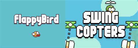 flappy bird swing copters de los creadores de flappy bird llega swing copters