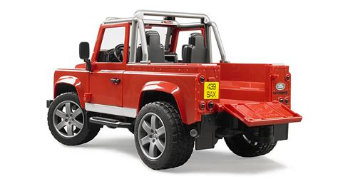 Bruder Toys 2591 Land Rover Defender Up bruder toys land rover defender up colors may vary