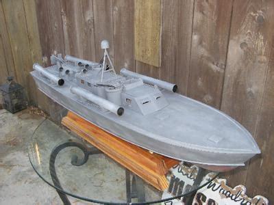 pt boat plans for model boat building elco pt boat