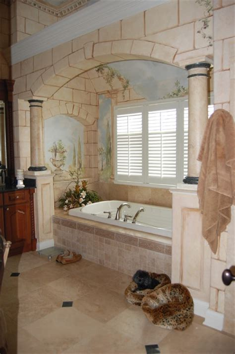 roman style bathroom roman bath traditional bathroom chicago by doreen