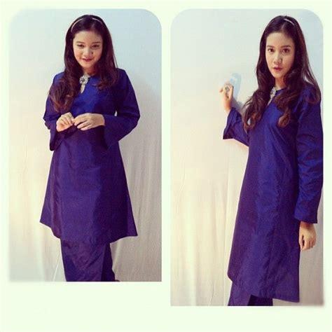 Gamis Ramadhani baju kurung ramadhani hq thai silk kebaya baju