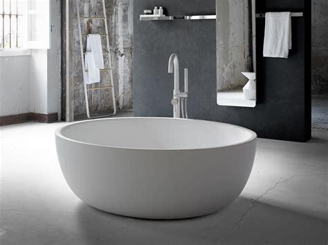 vasca da bagno ovale vasca da bagno centro stanza ovale in solid surface 174 moon