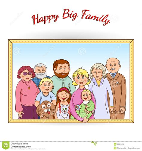 clipart photo portrait clipart family photograph pencil and in color