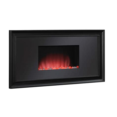 shop chimney free 39 06 in black wall mount electric