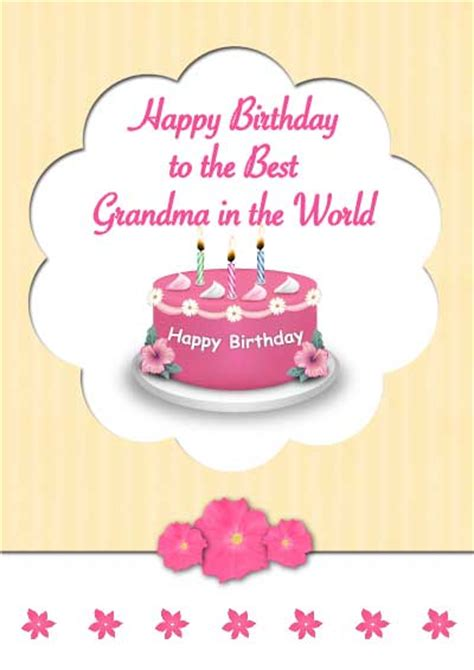 printable birthday cards grandma 6 best images of free printable color birthday cards for