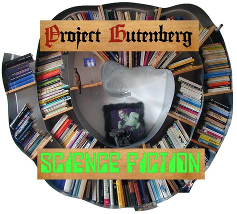 science fiction bookshelf gutenberg