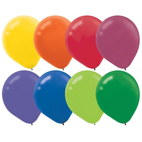 assorted colors assorted colors balloons balloon accessories