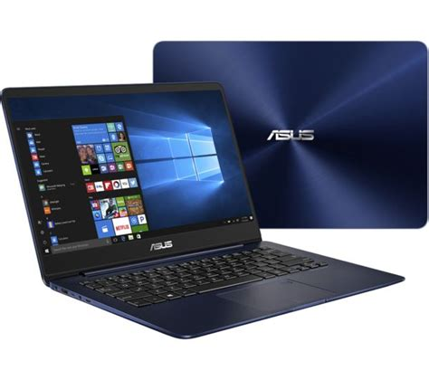 New Asus Laptop Blue Screen buy asus zenbook ux430 14 quot laptop blue free delivery currys