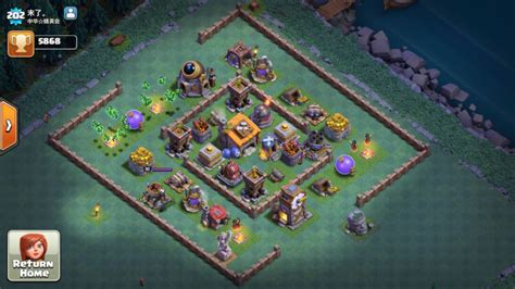 coc layout builder download clash of clans level 2 builders hall base design image