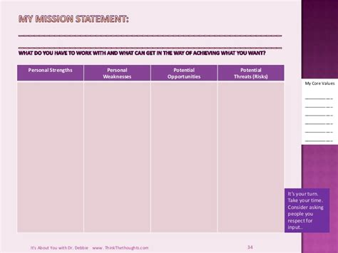 personal strategic plan template personal strategic plan template images