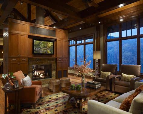modern mountain home contemporary living room mountain cabin