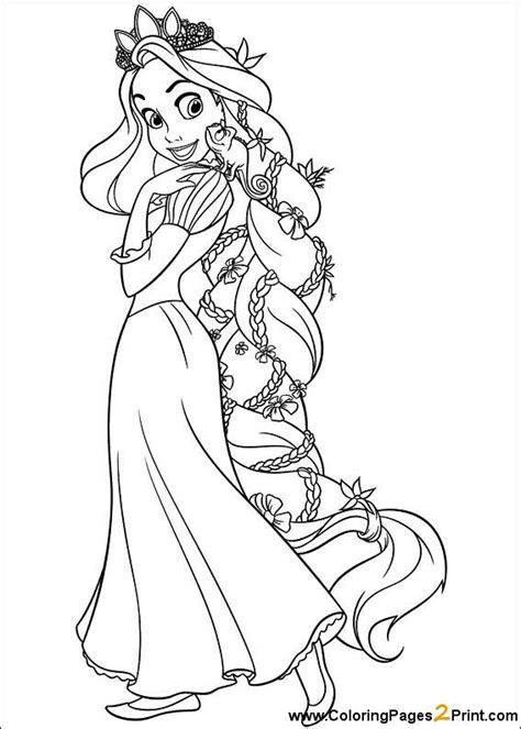 coloring book pages rapunzel rapunzel coloring pages