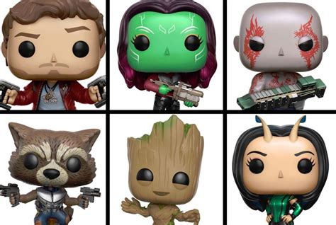 Funko Pop Guardians Of The Galaxy Vol 2 Lord funko reveals new pop figures for guardians of the