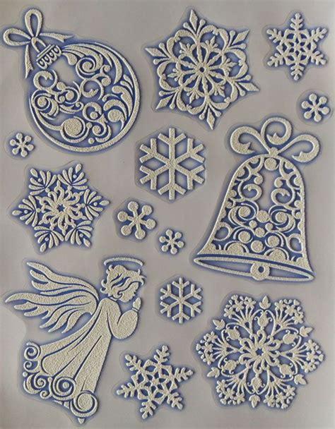 Fensterdeko Weihnachten Engel by Fensterbild Engel Schneeflocken