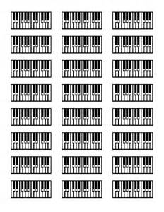 Piano chords chart for beginners printable printable piano keyboard